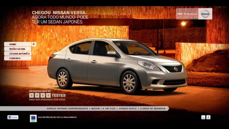 Nissan antecipa lançamento do sedã Versa no Brasil para o próximo dia 20