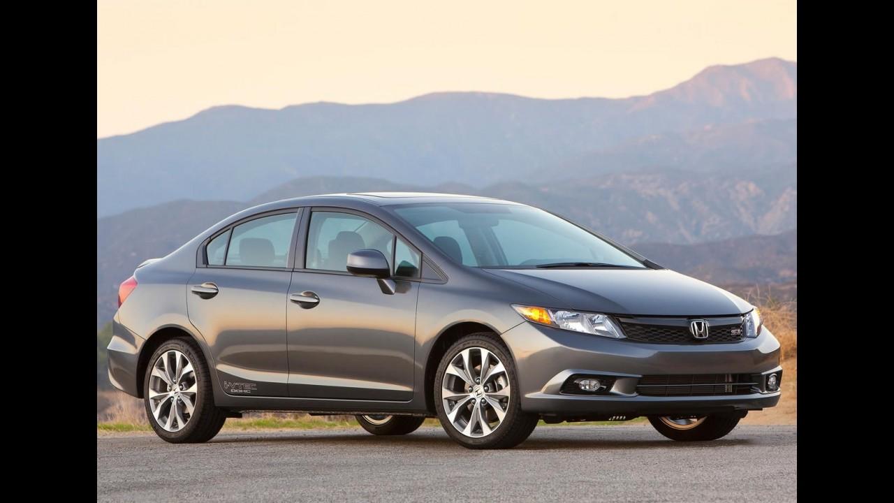 Conheça os 100 modelos mais vendidos nos EUA no 1º trimestre de 2012