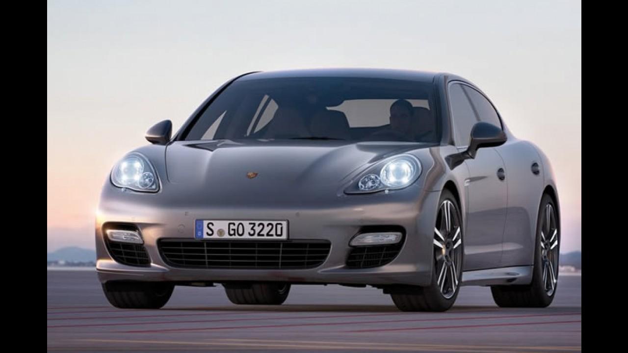 Porsche pode lançar sedã menor que o Panamera para brigar com Mercedes Classe E