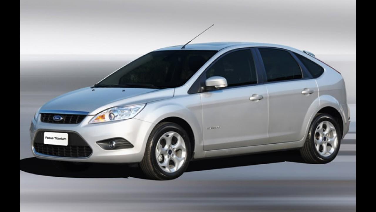 Ford KA custa R$ 21.240, New Fiesta sai R$ 43.990 e Focus 1.6 por R$ 49.900 com redução do IPI