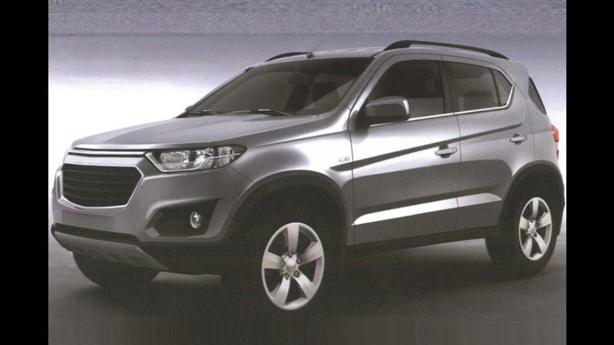 Chevrolet Niva: imagens de patente revelam visual da nova geração