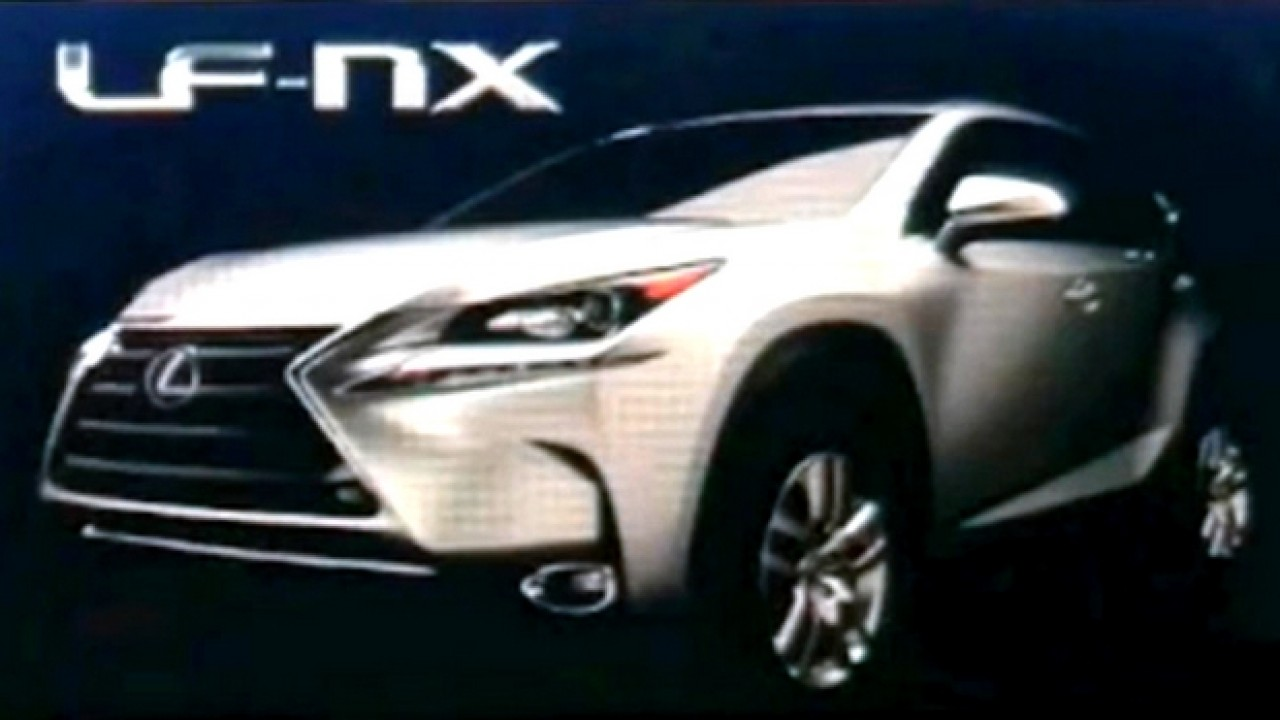Inédito SUV compacto da Lexus, LF-NX de produção tem primeira foto revelada