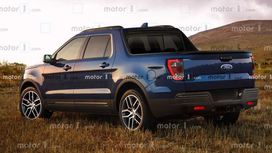 2021 Ford Maverick render
