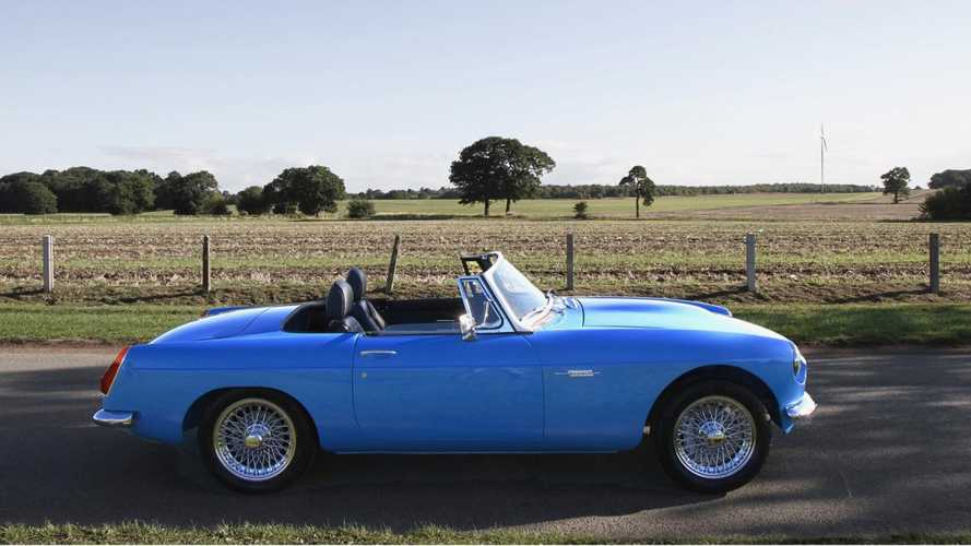 All-electric MGB Roadster to cost £100k