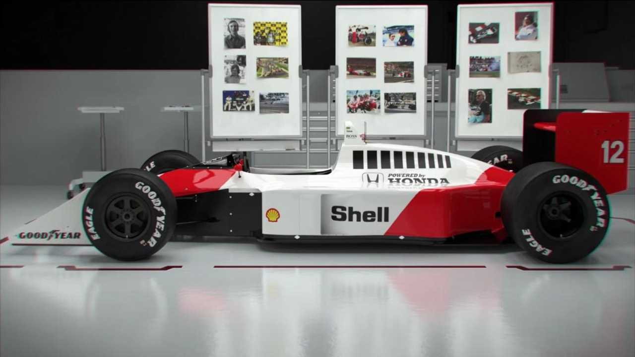 Who really designed Senna's McLaren MP4/4