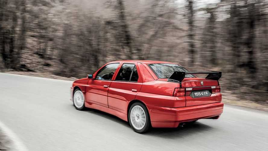 Buy the one-of-one Alfa Romeo 155 GTA Stradale that never was