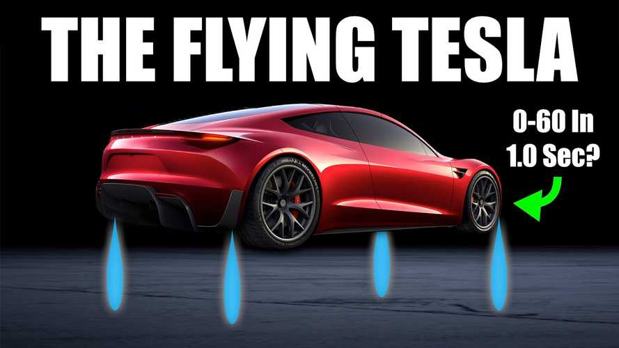 Can The Tesla Roadster Really Have Rocket Thrusters? How Will They Work?