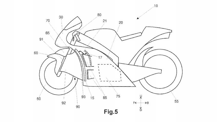 Aprilia Active Aero Patent