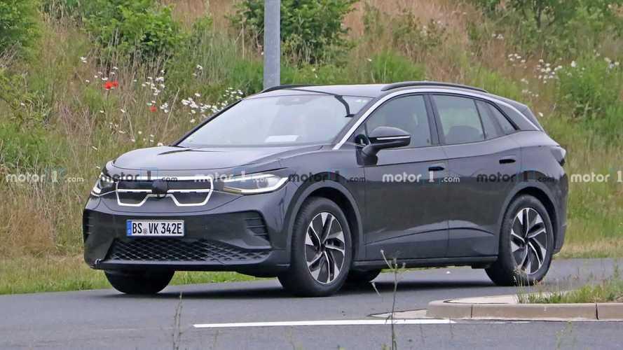 VW ID.4, foto spia