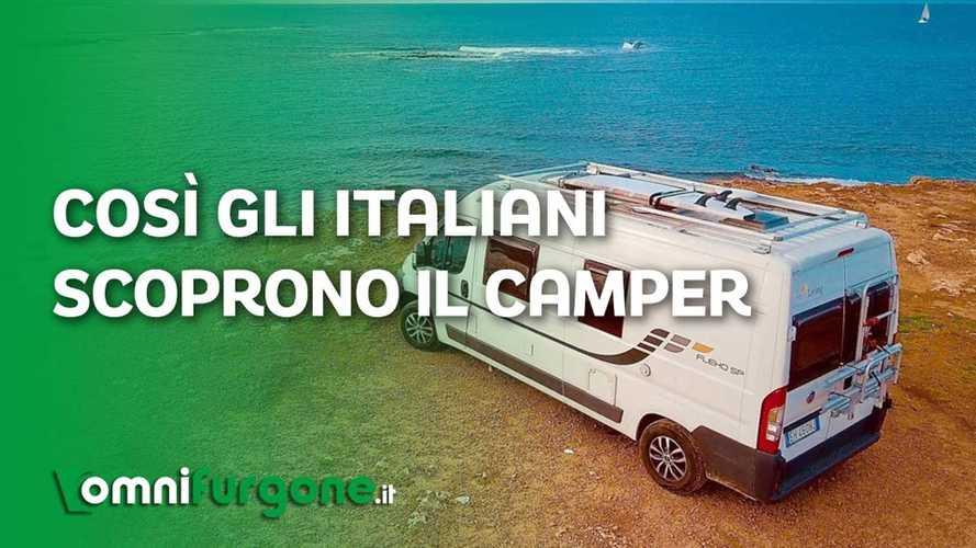 Camper e campervan, quest'anno le vacanze, in Italia, si fanno così