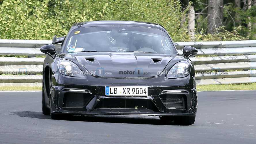 Porsche Cayman GT4 RS Spied Getting A Workout At The Nurburgring