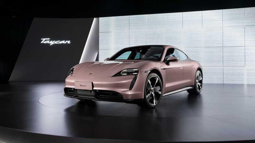 Así es el Porsche Taycan básico, de propulsión, estrenado en China