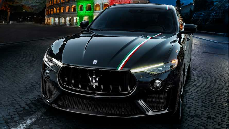 Maserati Levante And Ghibli Get $5,000 Hand-Painted Italian Flag