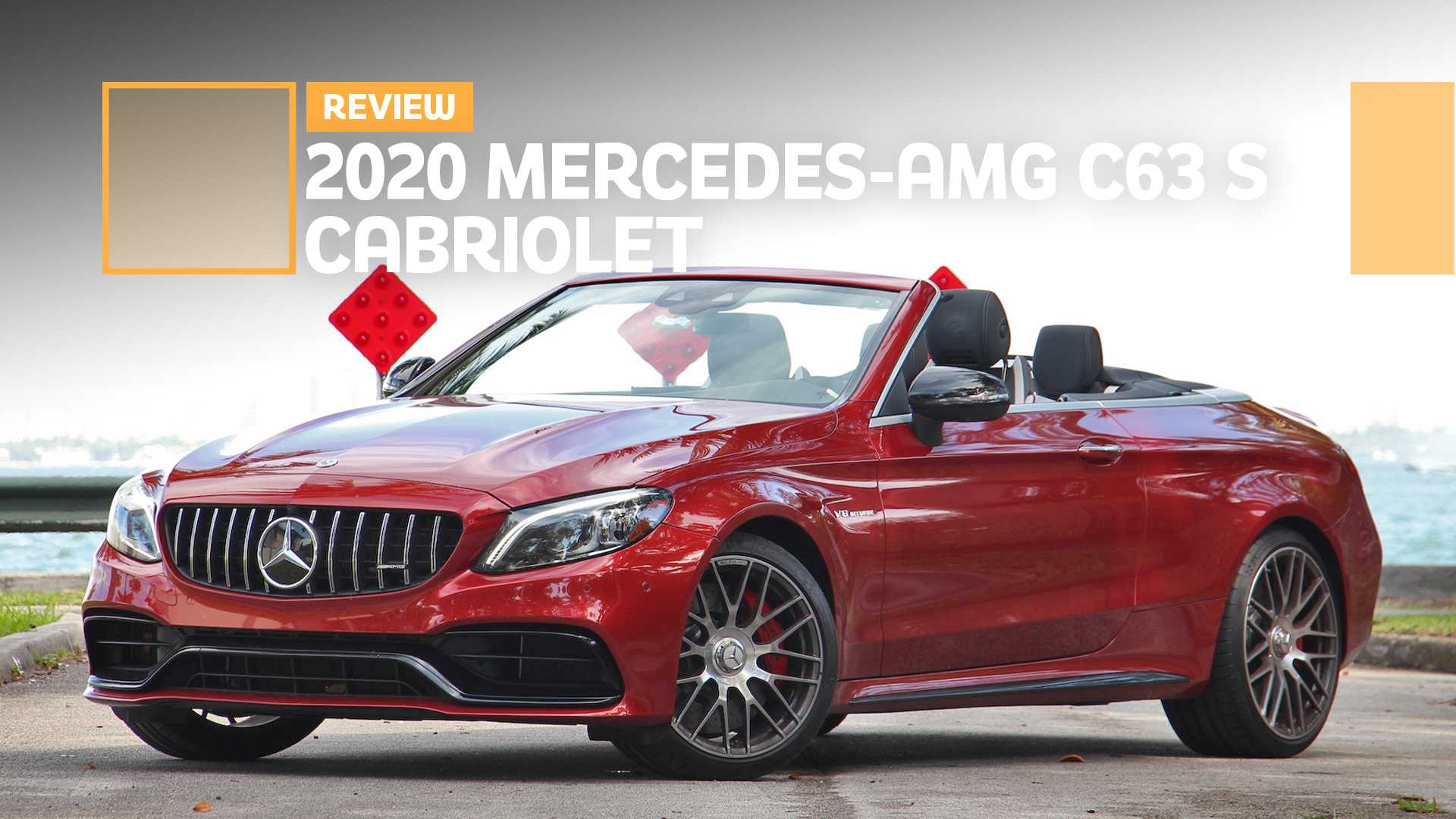 2020 Mercedes Amg C63 S Cabriolet Review The Fast And The Frivolous