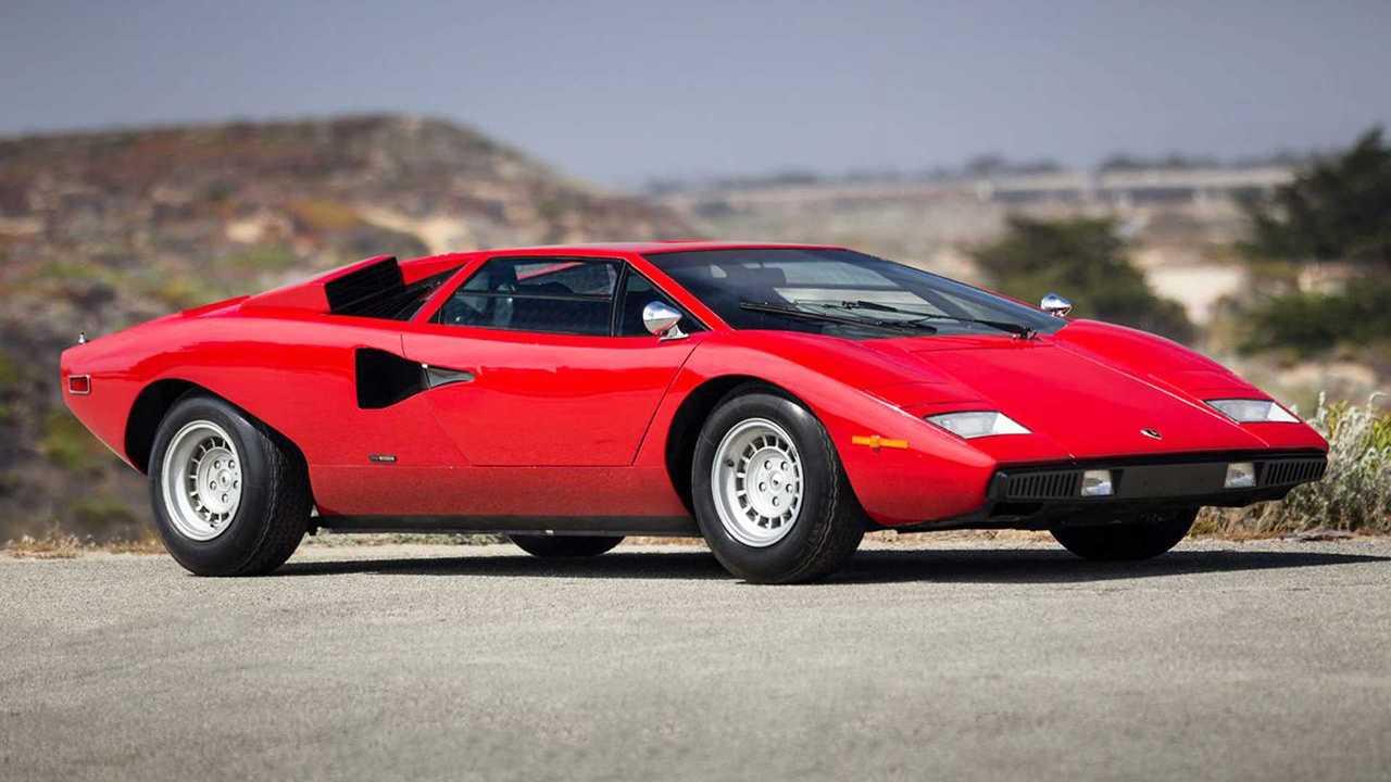 Lamborghini Countach LP400 (1974) – 1,72 миллиона евро