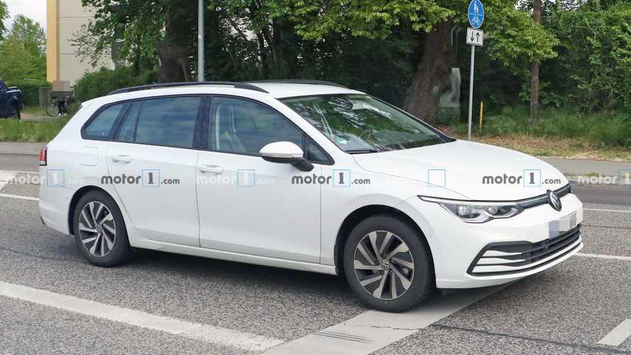 VW Golf 8 Variant (2021) zum ersten Mal erwischt