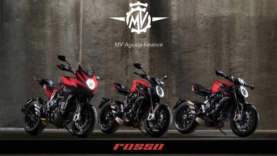 MV Agusta: promozione su tutta la gamma Rosso