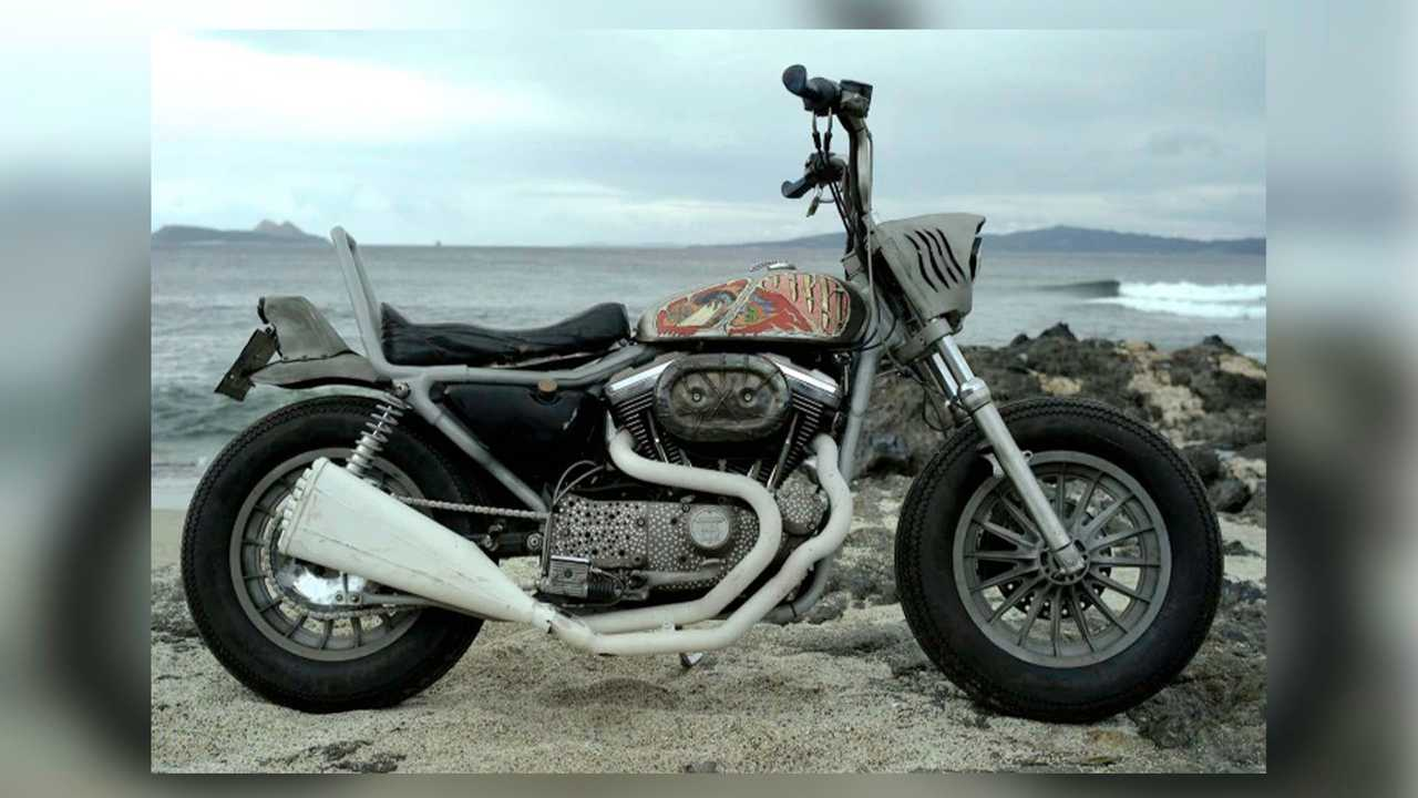 Custom Shop Morphs Harley Sportster Into A Land Shark