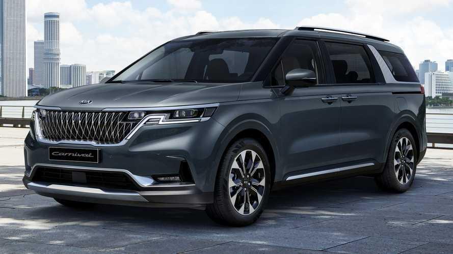 Kia, SUV-minivan karışımı yeni Carnival'ı tanıttı