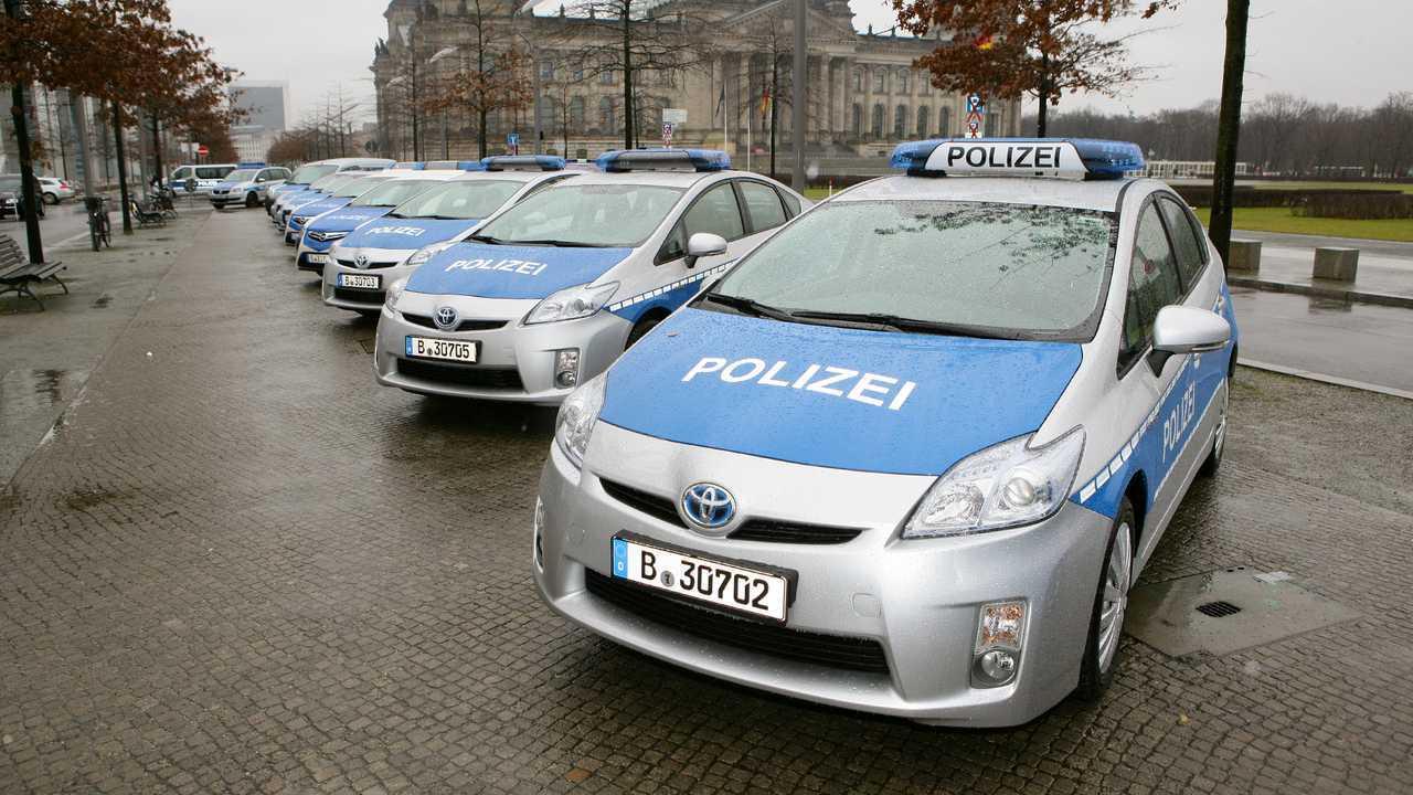 Polizeiautos in Deutschland: Toyota Prius