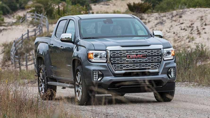 GMC Finally Shows Us 2021 Canyon Denali's 'Heroic Grille' Design
