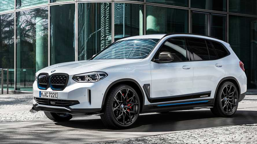 This Is How The BMW iX3 Looks All Decked Out In M Performance Parts