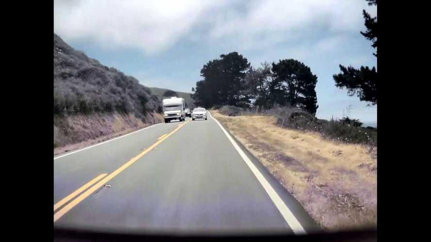Watch This Tesla Model Y Narrowly Avoid Head-On Crash: Scary TeslaCam Footage