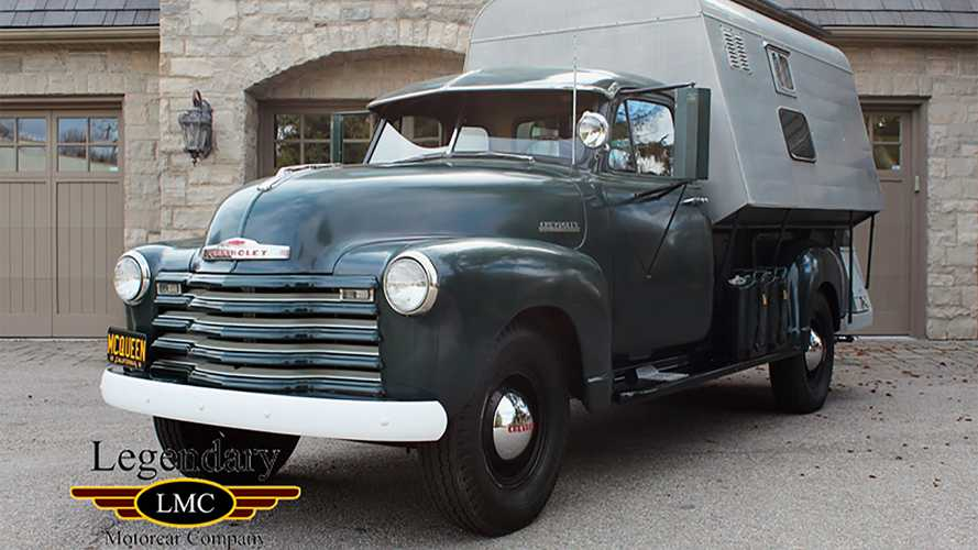 Steve McQueen's 1952 Chevy Pickup Camper Is For Sale