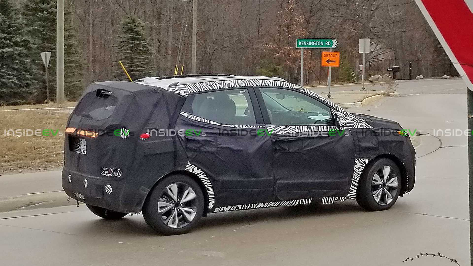 Chevrolet Bolt Euv Spied As Camouflaged Prototype