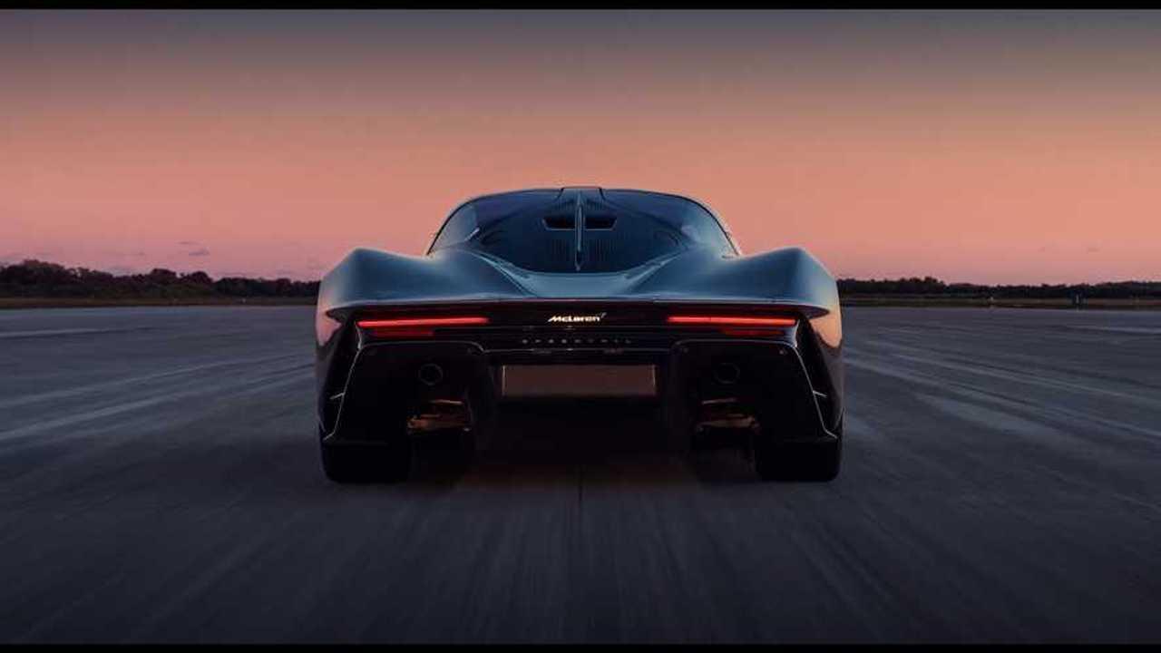 McLaren Speedtail Top Speed video