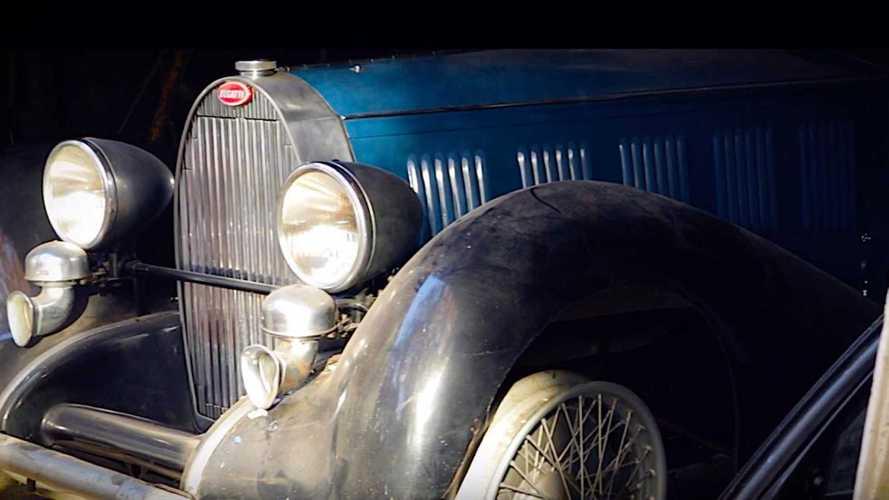 Barn Find Bugatti Trio Sells For $1 Million