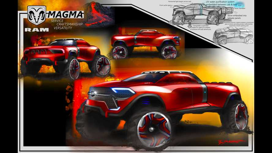 These Future Ram Truck Renderings Won FCA's Design Competition