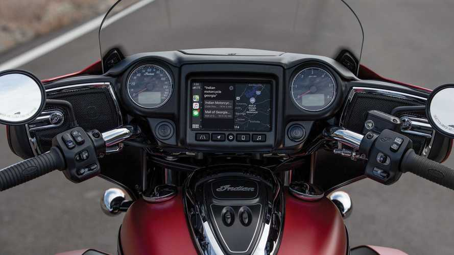 Apple CarPlay per Indian Indian Chieftain, Roadmaster e Challenger