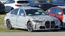 BMW M3 Spied With Less Camo