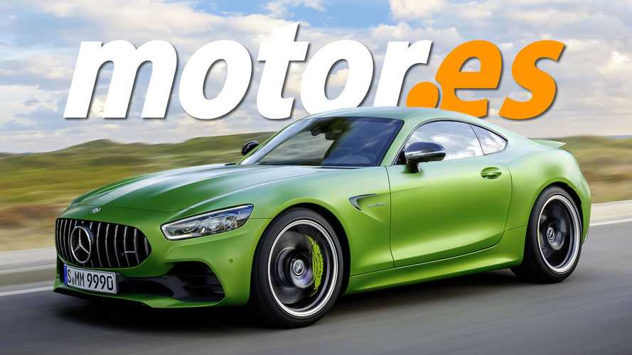 2022 Mercedes-AMG GT Coupe rendering