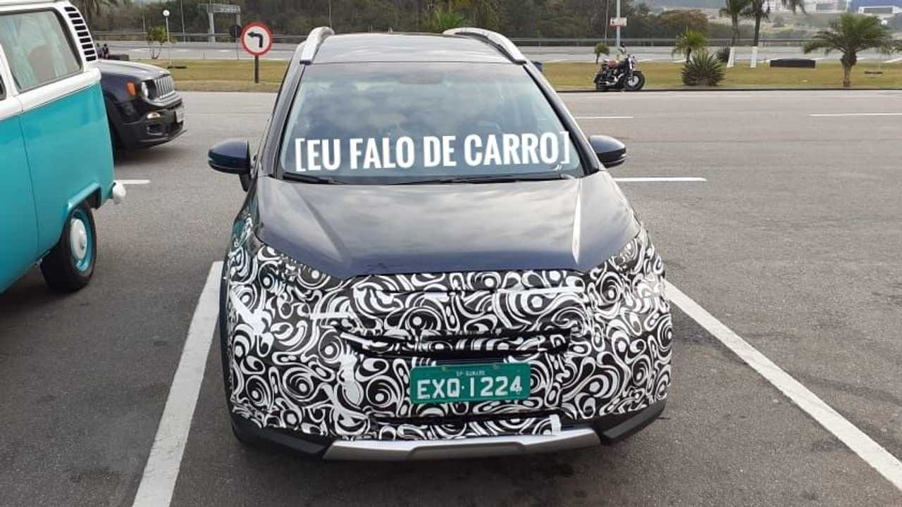 Flagra: Honda WR-V 2021 (Brasil)