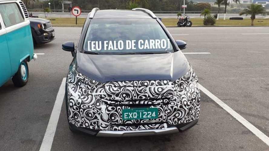 Flagra: Novo Honda WR-V 2021 aparece em testes no Brasil