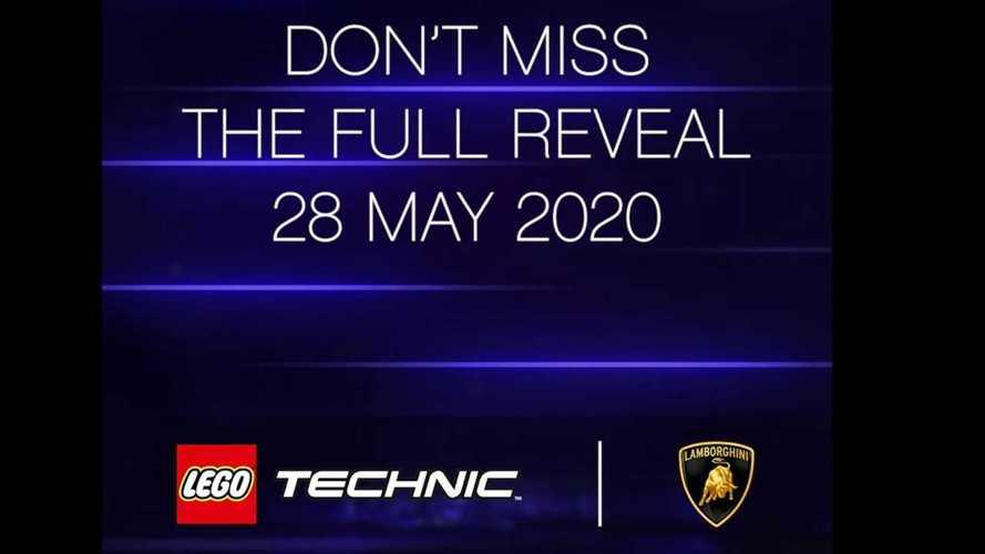 Lamborghini Sian от Lego – тизеры