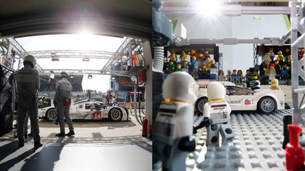 These Lego creations of iconic Porsche moments are simply brilliant