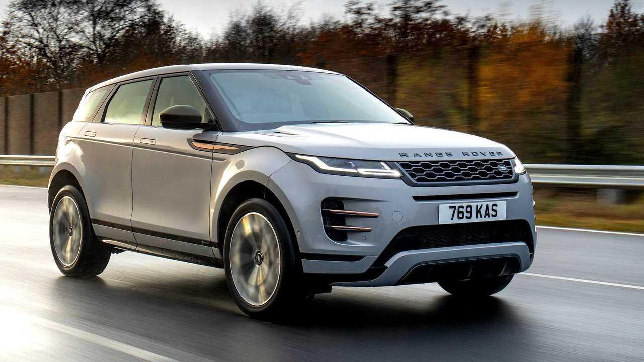 Range Rover Evoque híbrido - movimento