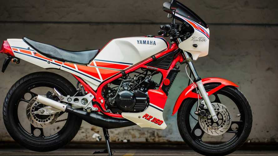 The 1985 Yamaha RZ350 Was The Beginning Of The End For Two-Strokes