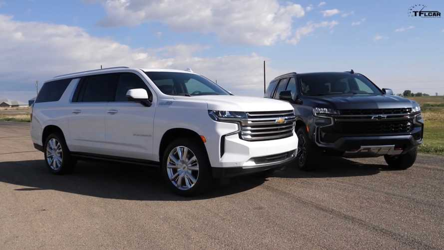 2021 Chevy Tahoe Drag Races 2021 Suburban For SUV Supremacy