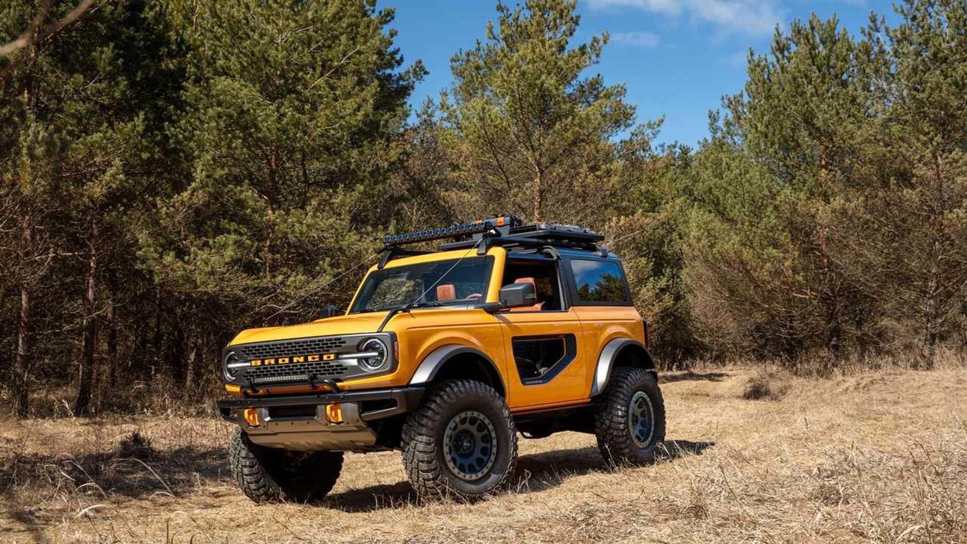 El nuevo Ford Bronco 2021, al descubierto, en sus tres versiones