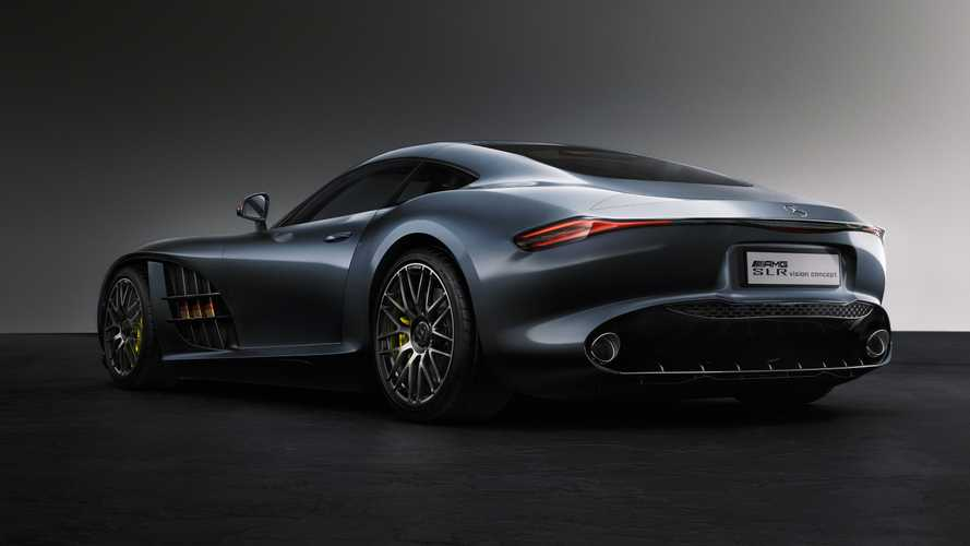 Mercedes SLR-AMG Concept Rendering By Georgi Bozhkov