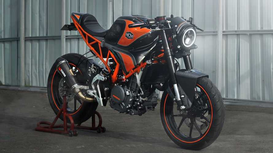 This KTM RC 250 Has Been Transformed Into A Sharp Cafe Racer