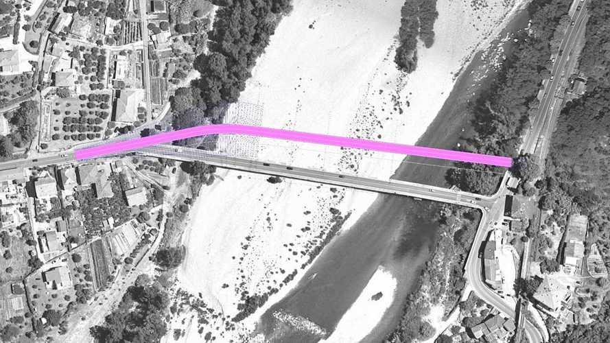 Ponte sul fiume Magra, ecco i percorsi alternativi dopo il crollo