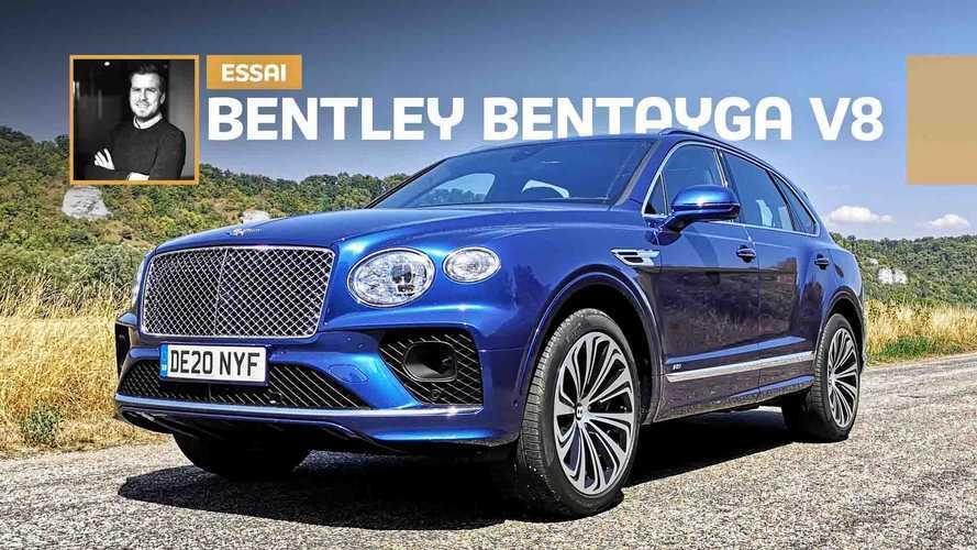 Essai Bentley Bentayga V8 - Méfiez-vous de l'eau qui dort...