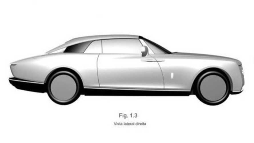Rolls-Royce Coupe Patent Images