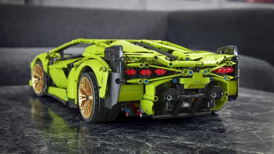 Lamborghini Sián Lego Technic