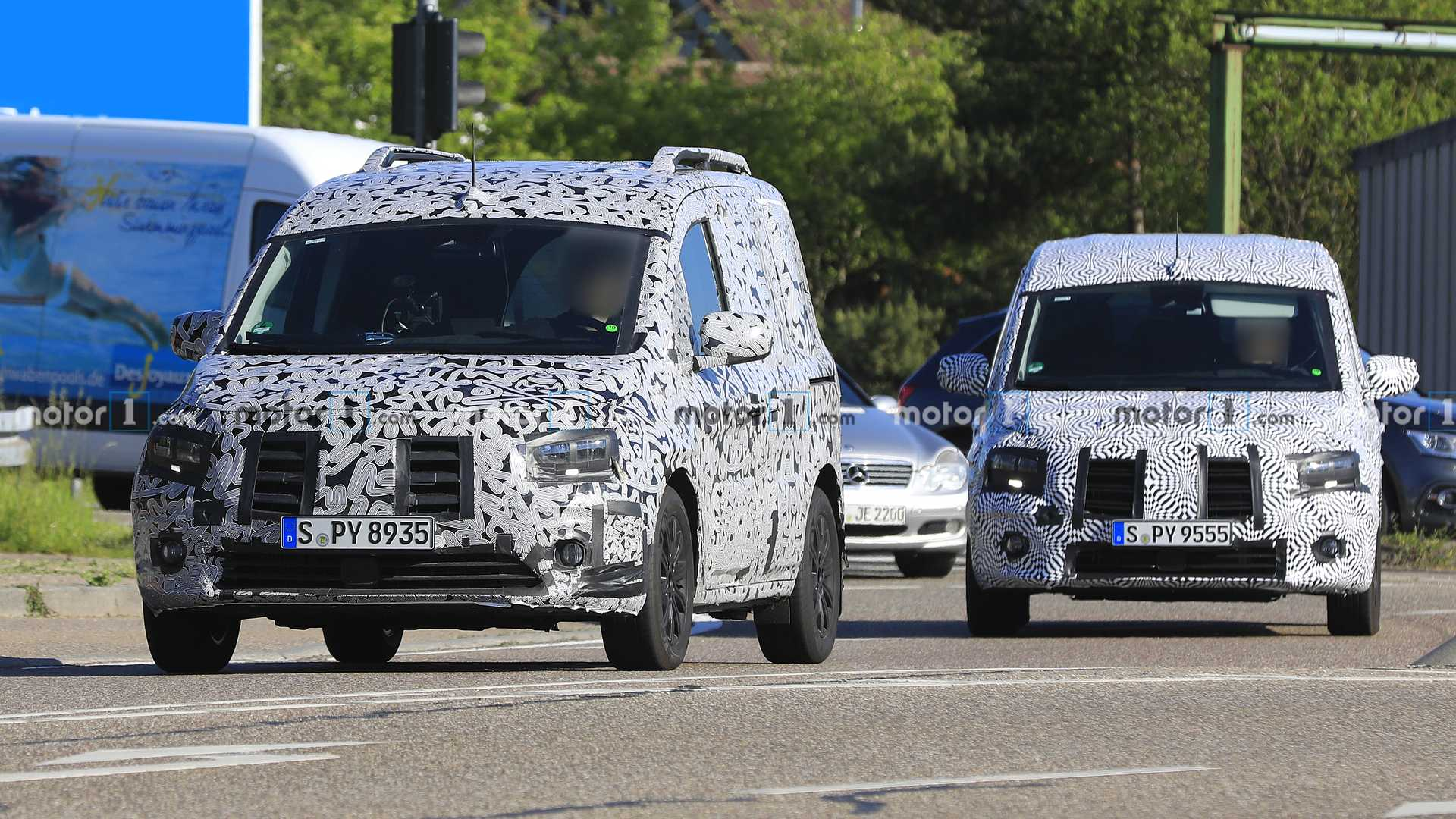 2020 - [Mercedes] Classe T/Citan II - Page 2 Mercedes-benz-citan-new-spy-photo